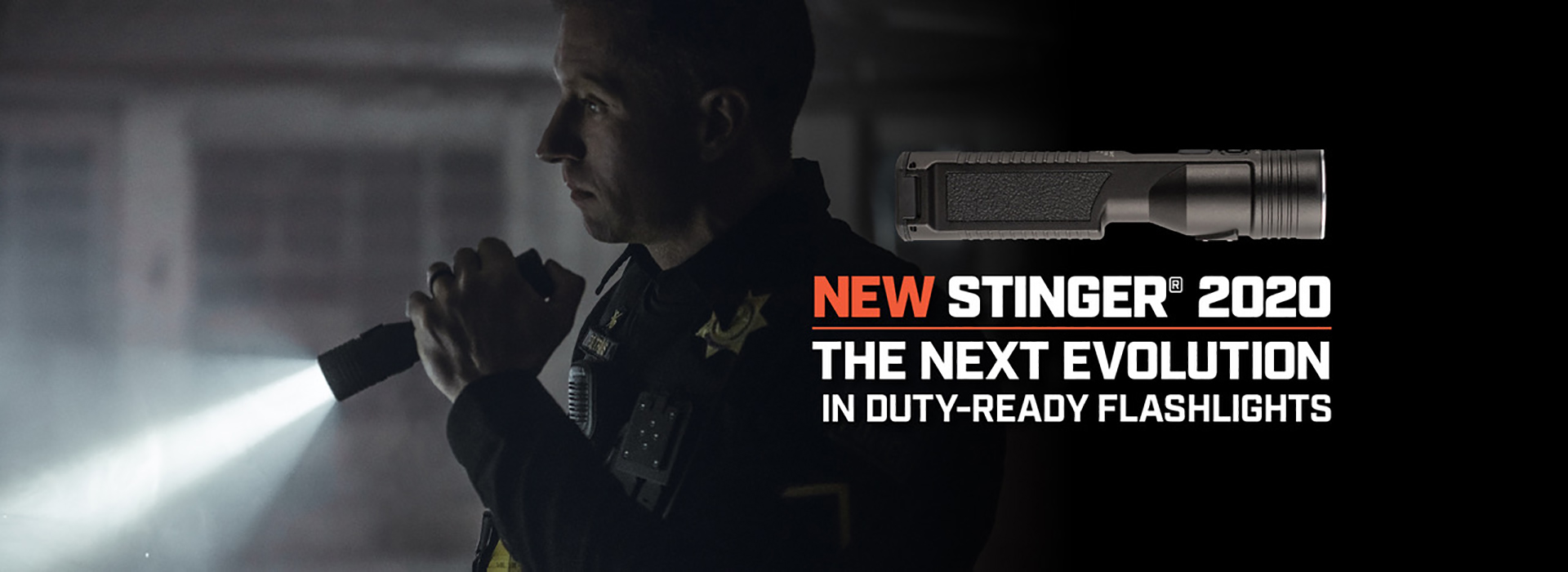NEW STINGER® 2020 :: THE NEXT EVOLUTION IN DUTY-READY FLASHLIGHTS