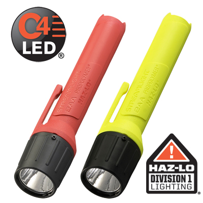 2AA PROPOLYMER® HAZ-LO® ATEX FLASHLIGHT