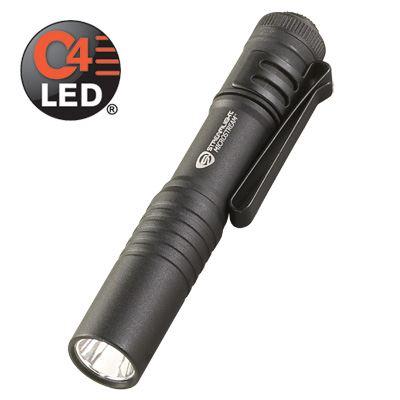 Ultra Compact Micro Stream Aluminum Body Durable Alkaline Battery Flashlight