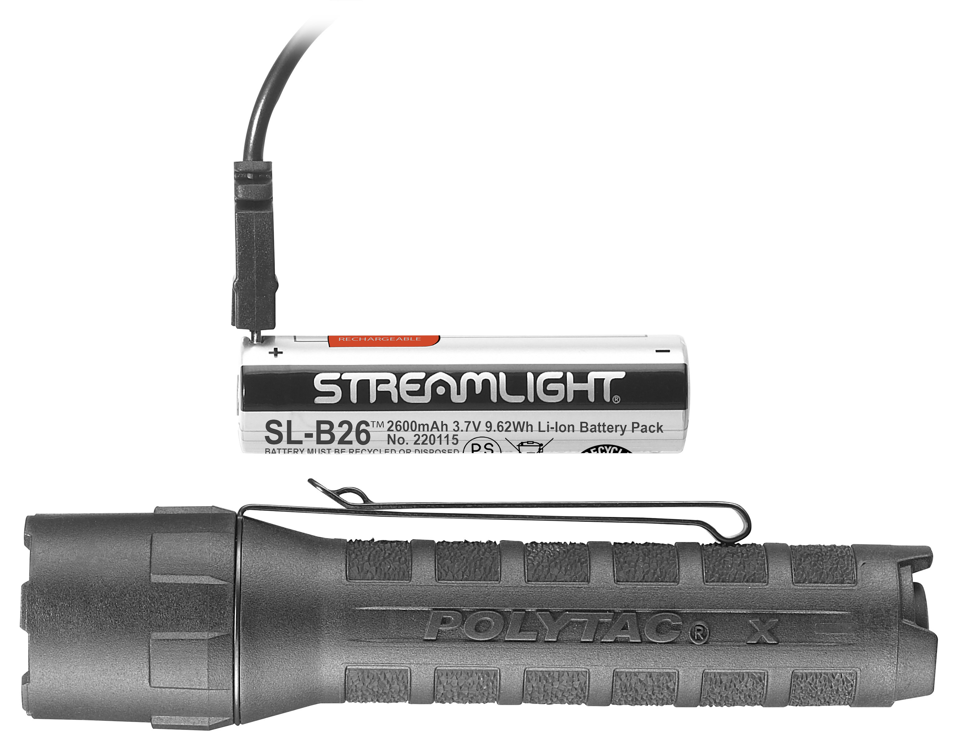 POLYTAC® X USB/POLYTAC® X FLASHLIGHT