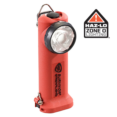SURVIVOR® RIGHT ANGLE ATEX LIGHT :: RECHARGEABLE OR ALKALINE