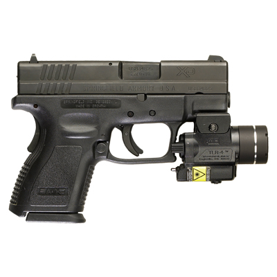 Compact Tactical Light With Aiming Laser Tlr 4 174