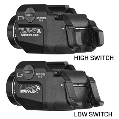 TLR-7®A GUN LIGHT WITH REAR SWITCH OPTIONS