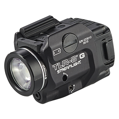 TLR-8® G GUN LIGHT WITH GREEN LASER AND SIDE SWITCH