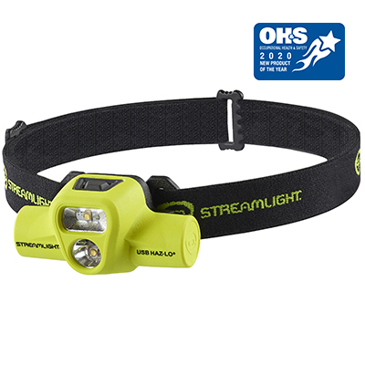 USB HAZ-LO® INTRINSICALLY SAFE HEADLAMP